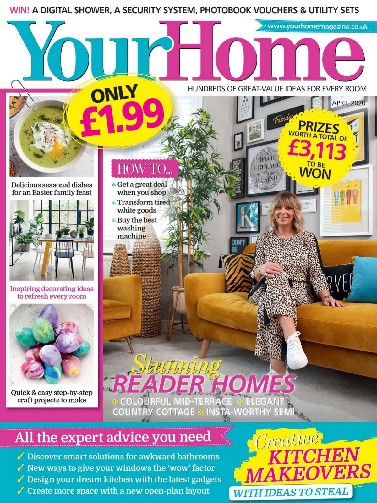 《Your Home》英国家居设计杂志2020年04月号