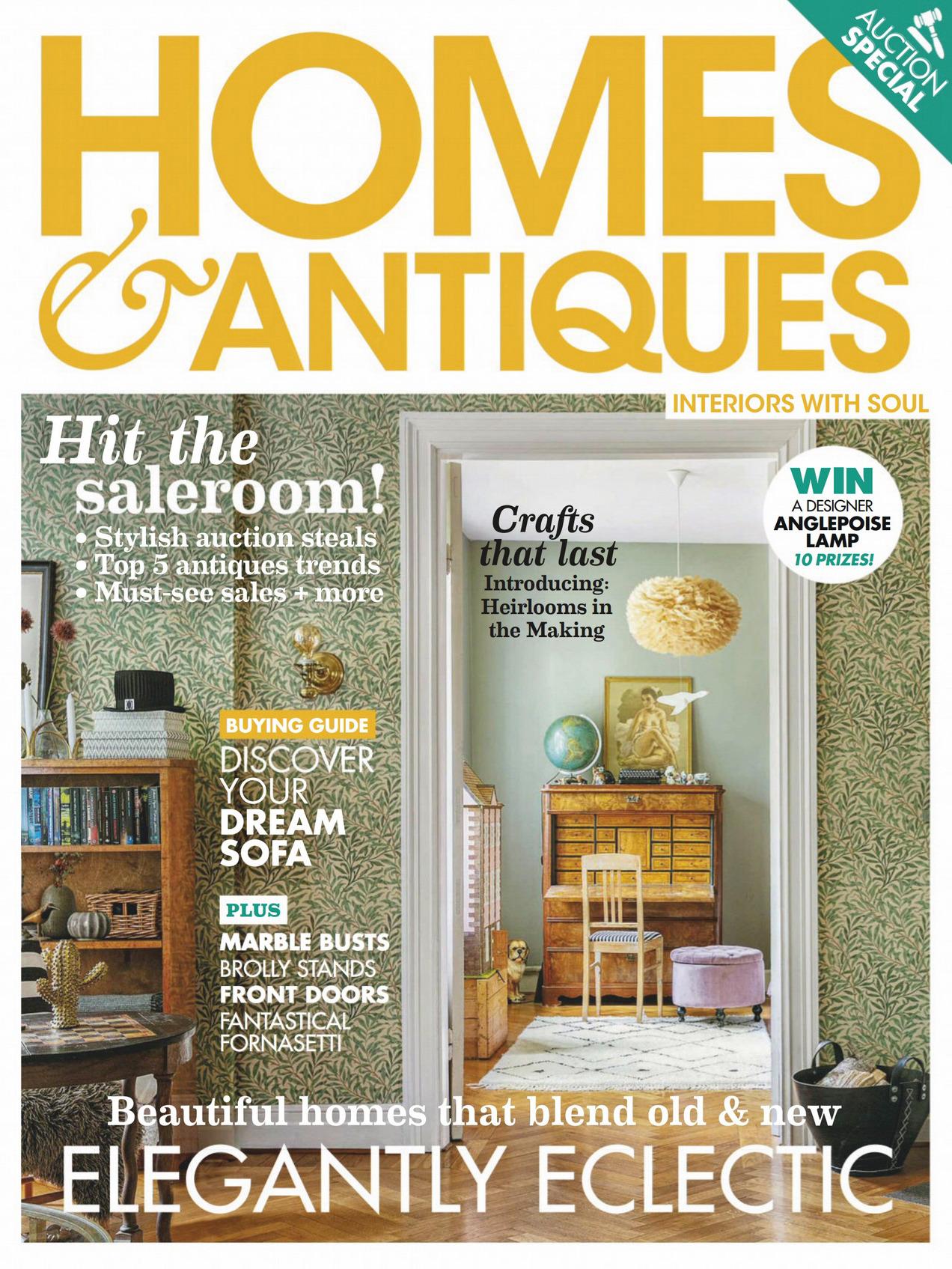 《Homes & Antiques》英国版时尚家居杂志2020年04月号