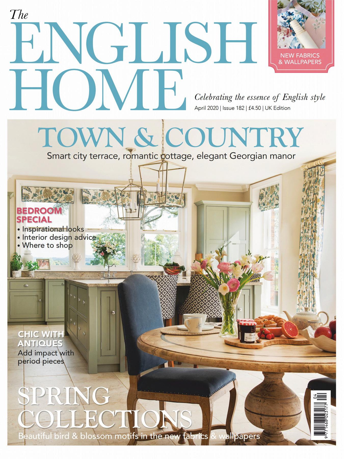 《The English Home》英国版时尚家居杂志2020年04月号