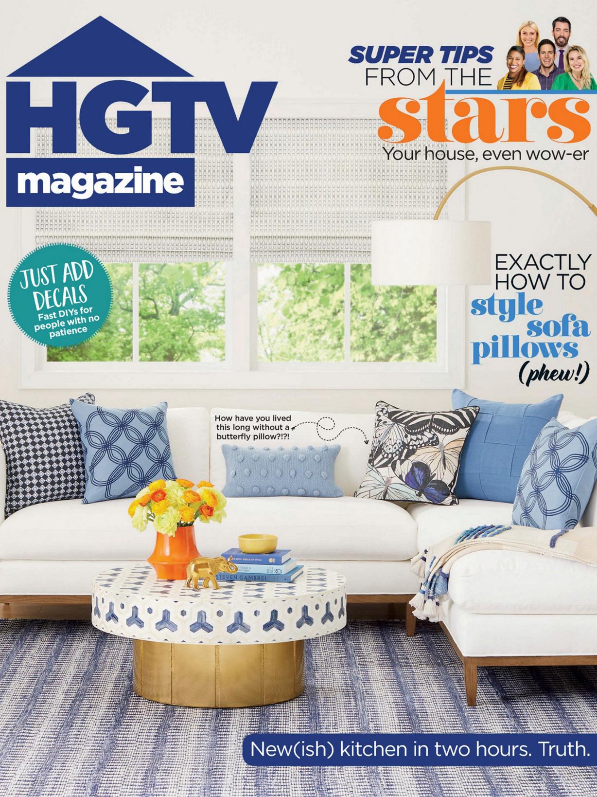 《Hgtv》美国版时尚家居设计杂志2020年04月号