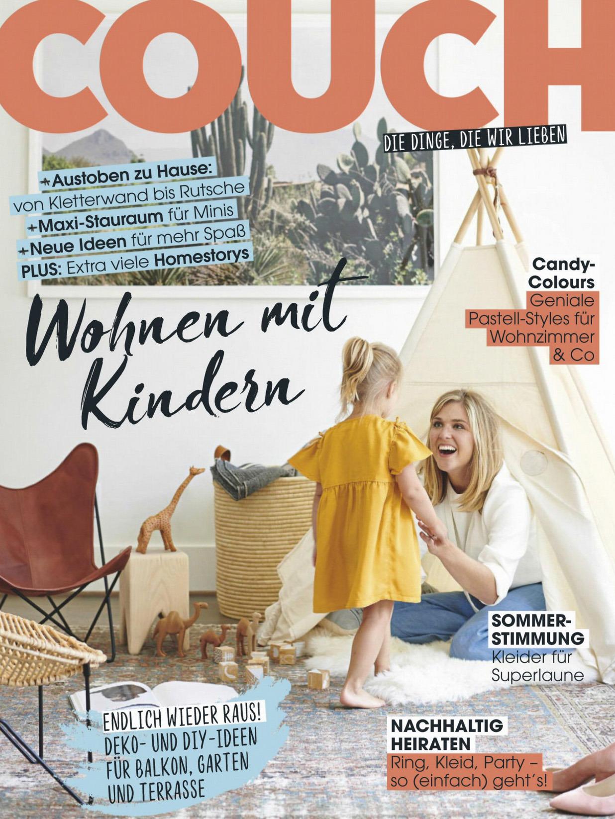 《Couch》德国版时尚家居设计杂志2020年06月号