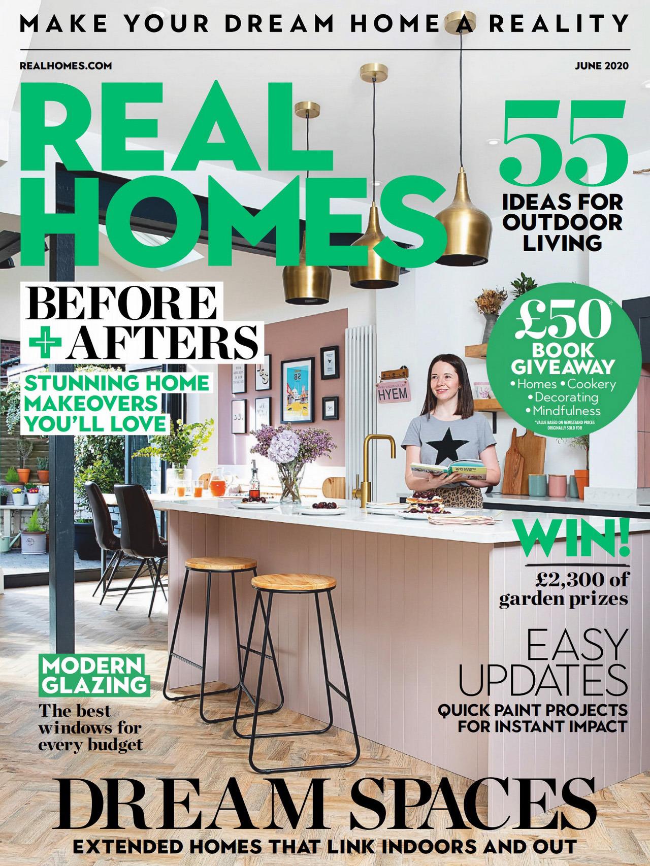 《Real Homes》英国室内设计趋势杂志2020年06月号