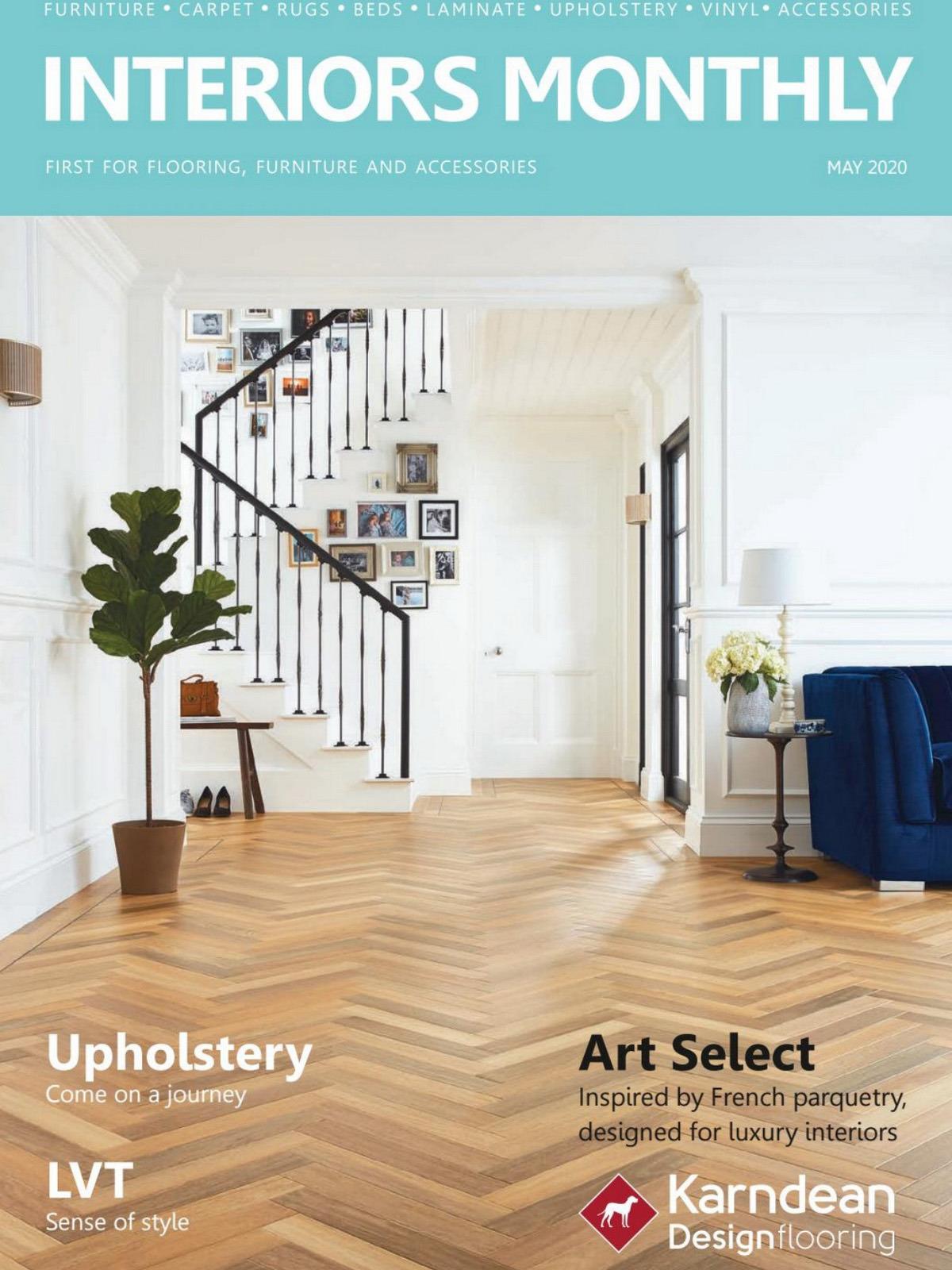 《Interiors Monthly》英国室内设计杂志2020年05月号