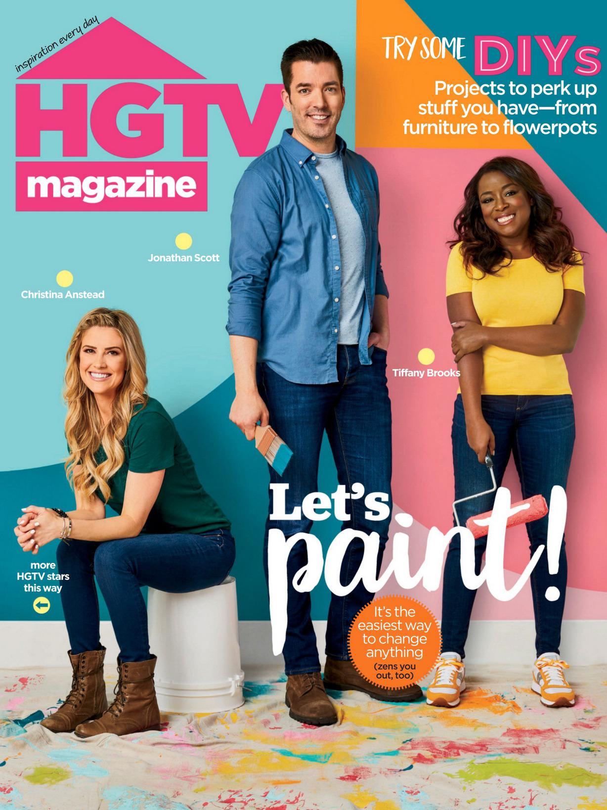《Hgtv》美国版时尚家居设计杂志2020年06月号