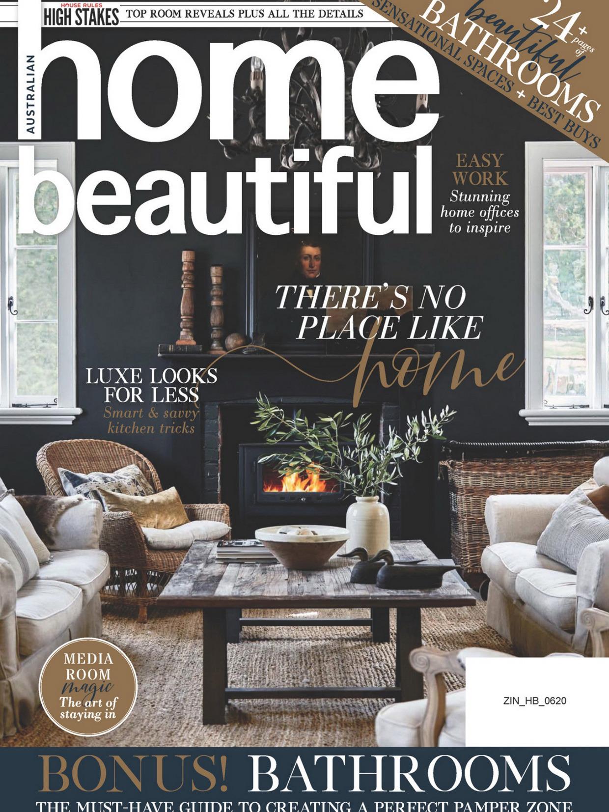 《Home Beautiful》澳大利亚版时尚家居杂志2020年06月号