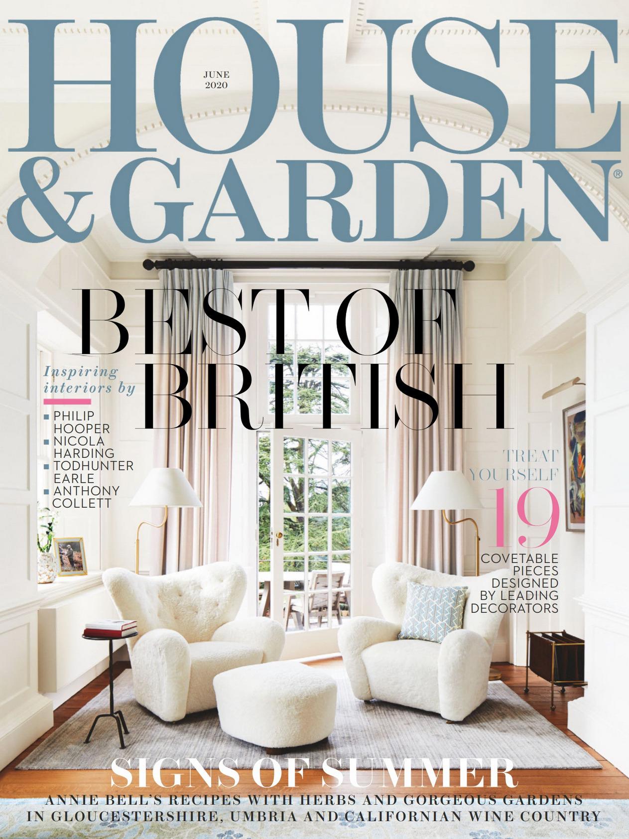《House & Garden》英国版时尚家居杂志2020年06月号