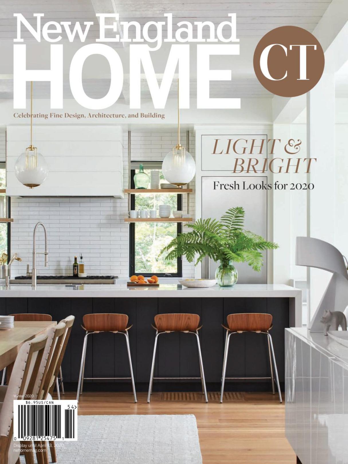 《New England Home》美国室内时尚杂志2020年冬季号