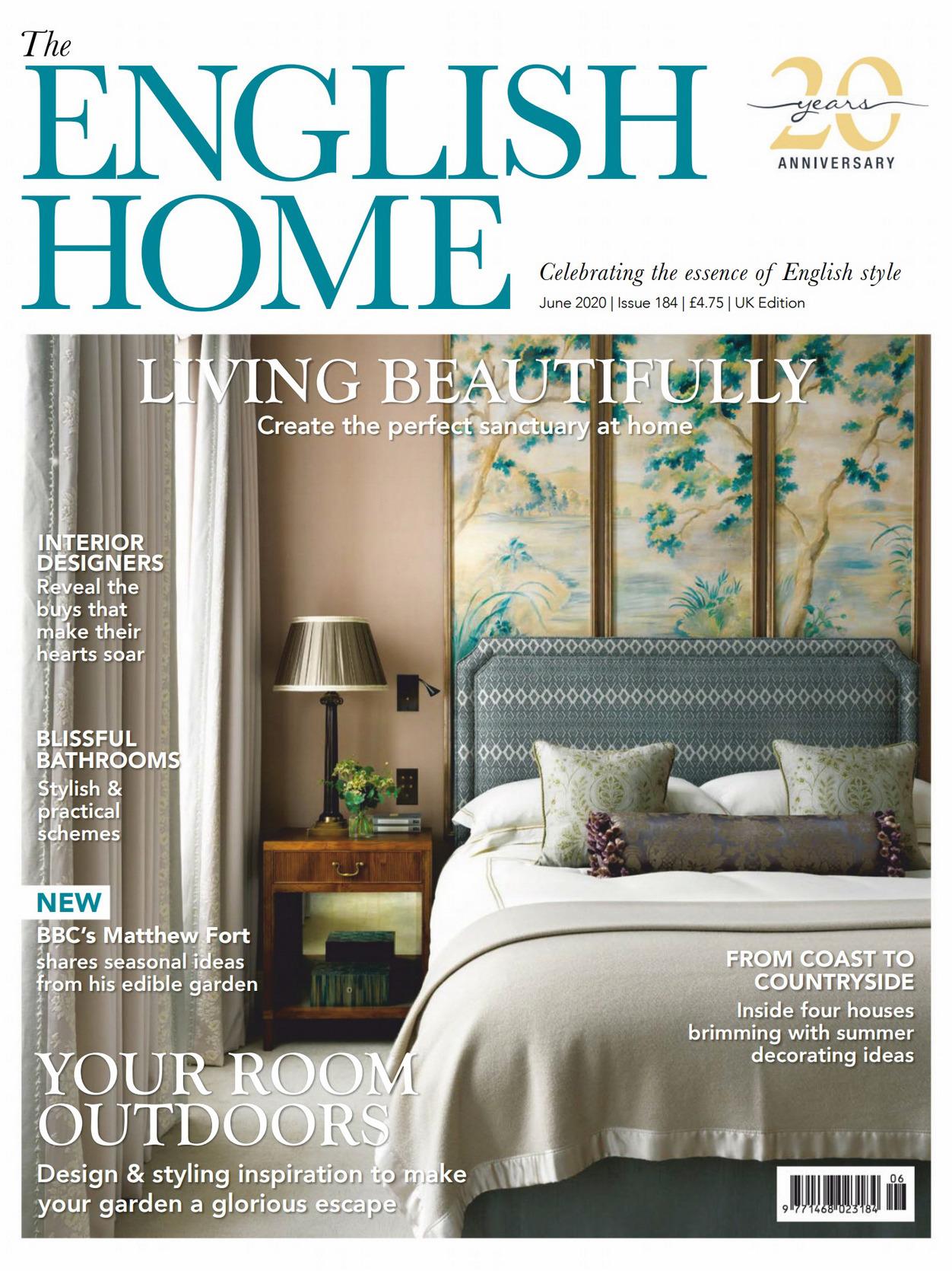 《The English Home》英国版时尚家居杂志2020年06月号