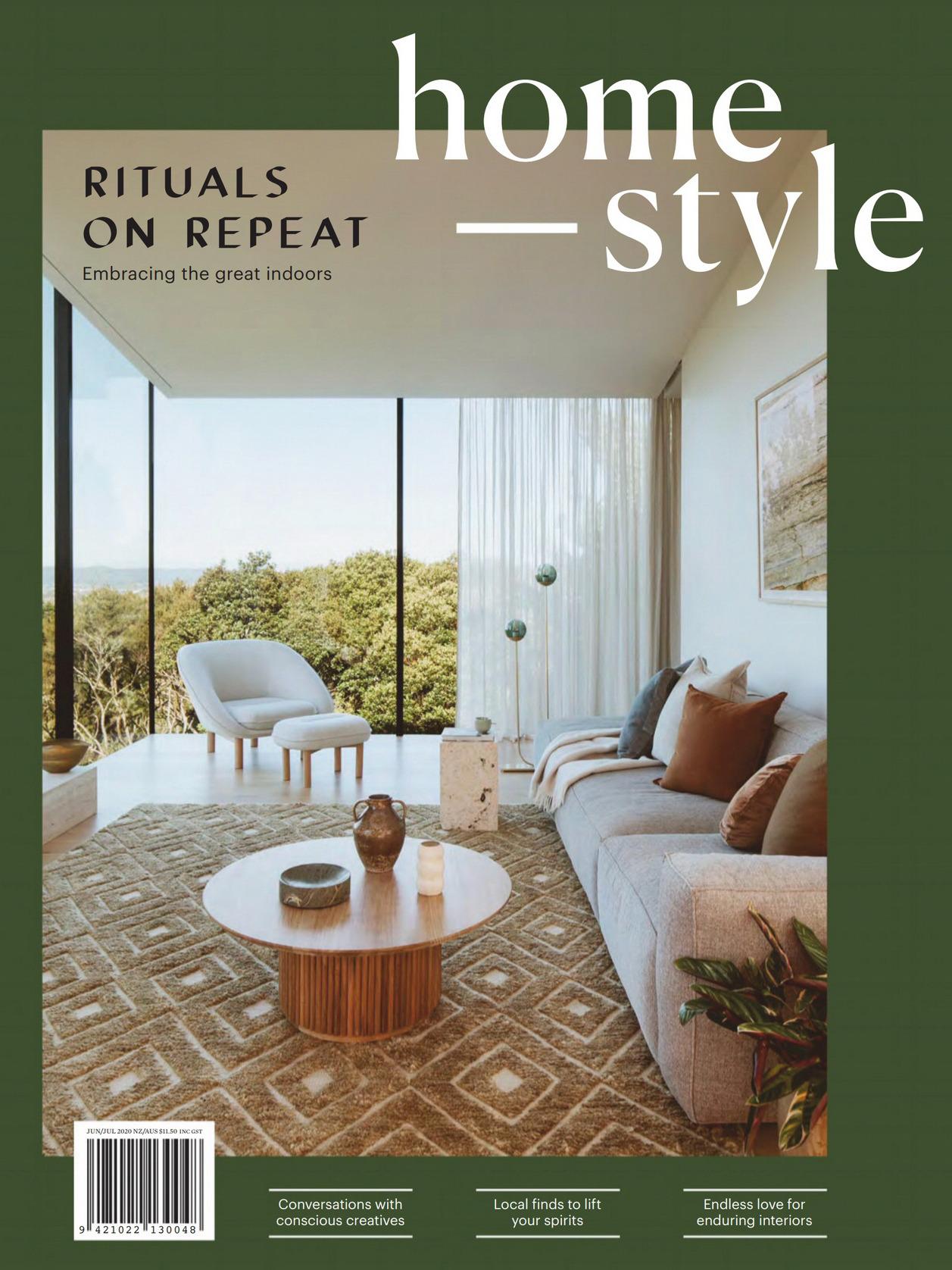 《Homestyle》新西兰室内装饰设计杂志2020年06-07月号