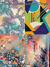 《Fascino Astratto e Cachemire-Floral》2021春夏意大利数码印花面料趋势手稿(Vol.1)