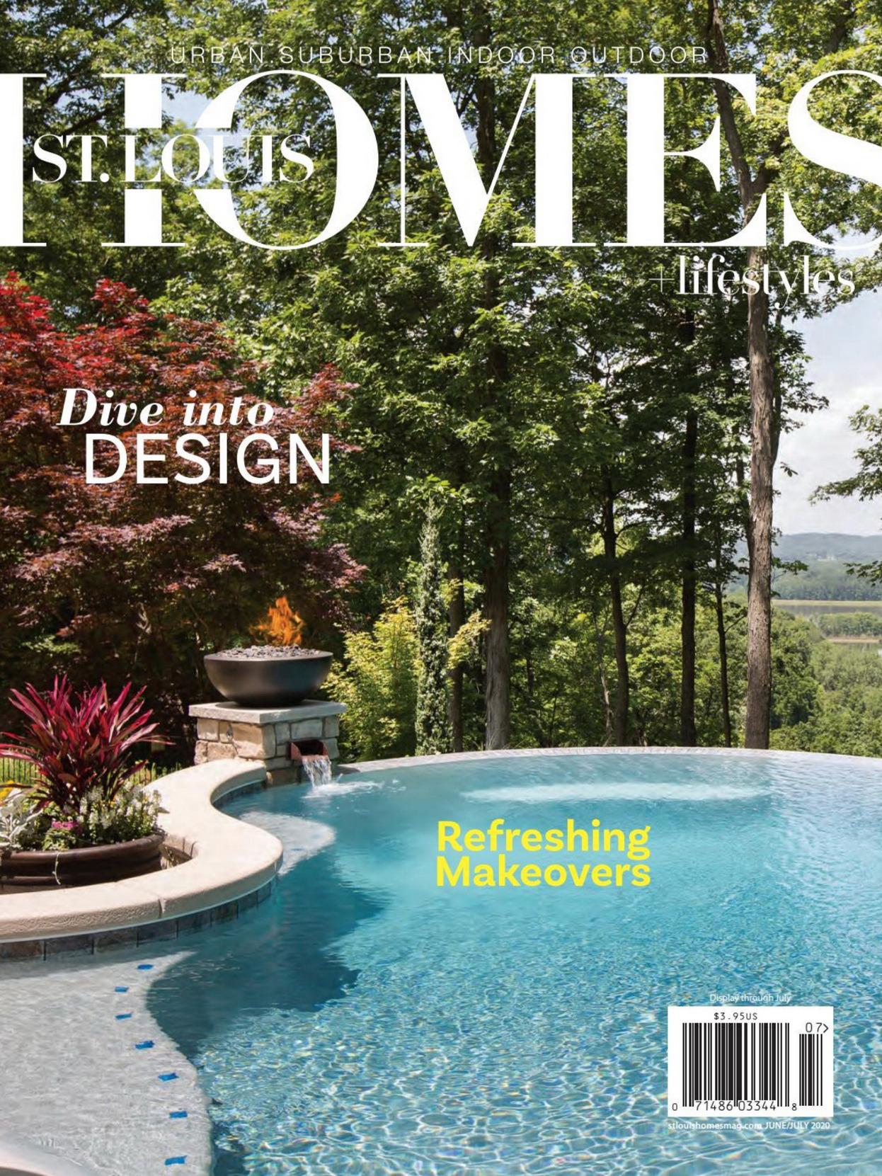《St. Louis Homes & Lifestyles》美国版时尚家居生活杂志2020年07月号