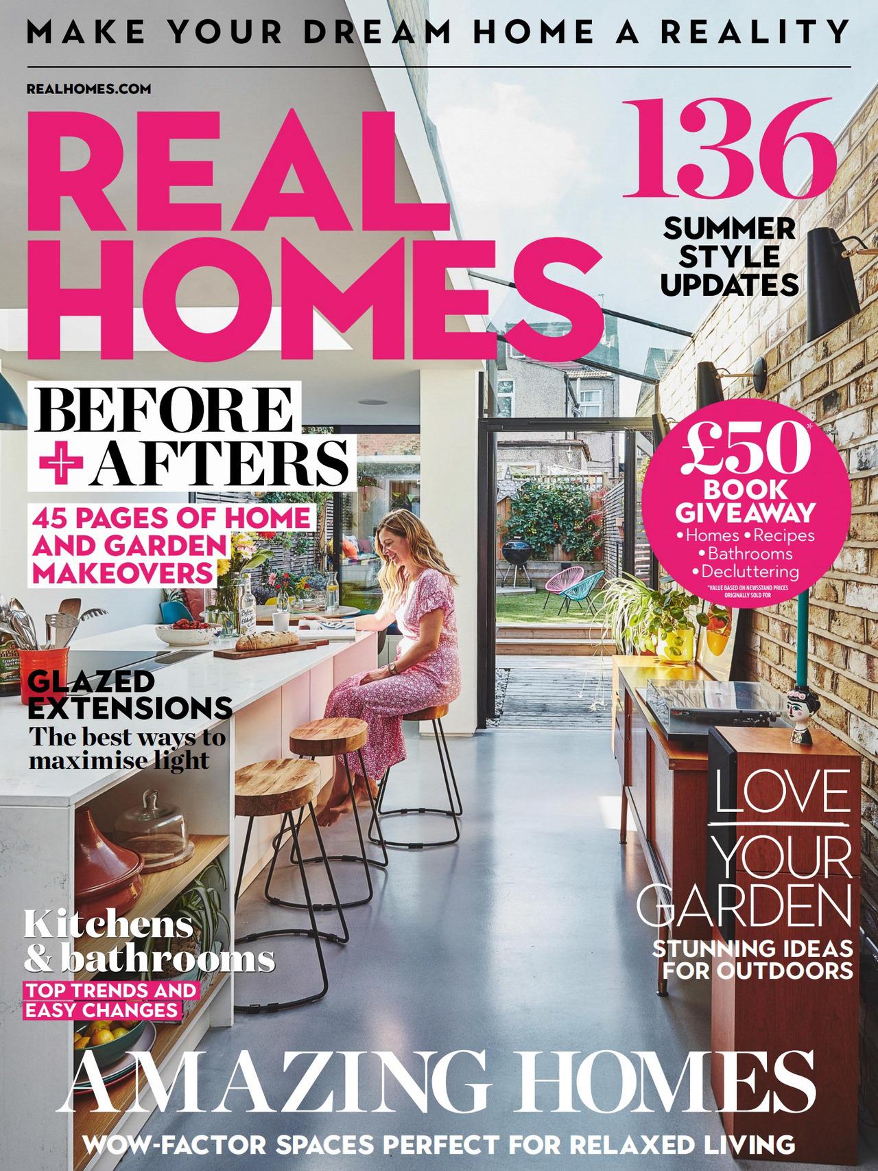 《Real Homes》英国室内设计趋势杂志2020年07月号