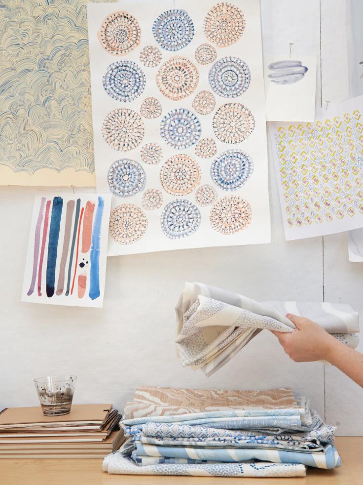 《Rebecca Atwood Designs》2020春夏软装面料系列Lookbook