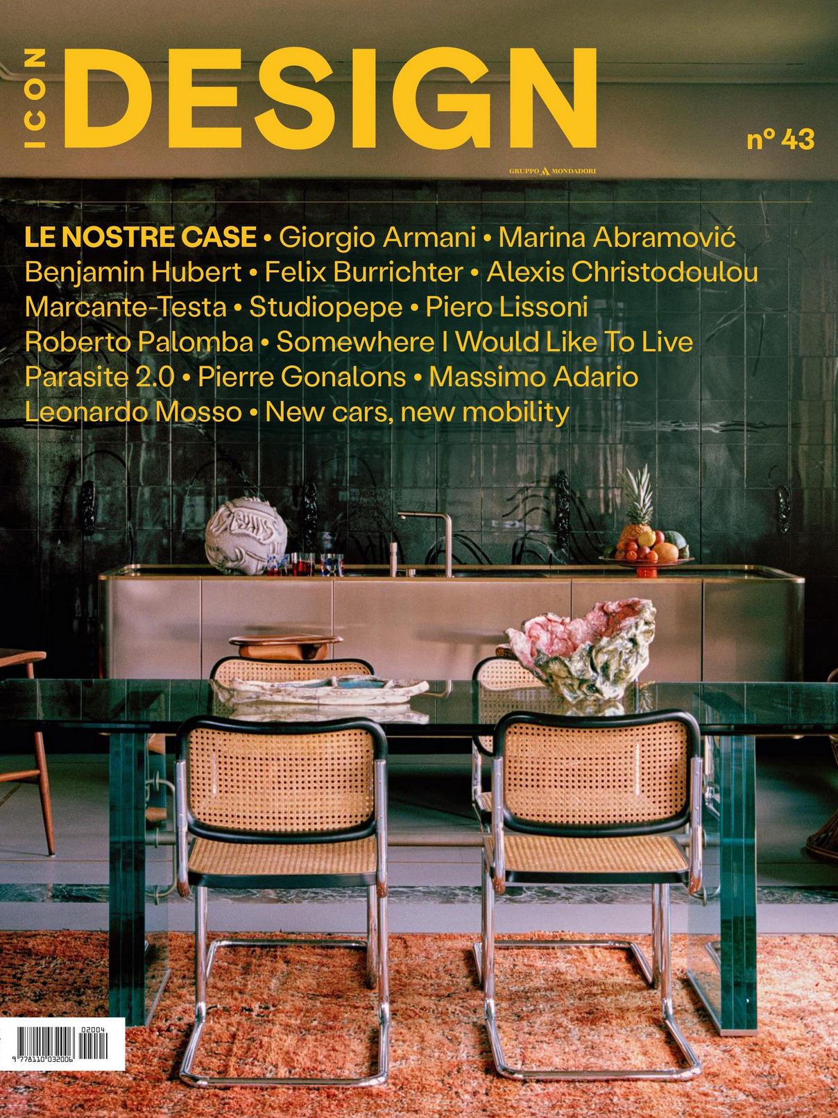 《Icon Design》英国版时尚家居设计杂志2020年07月号