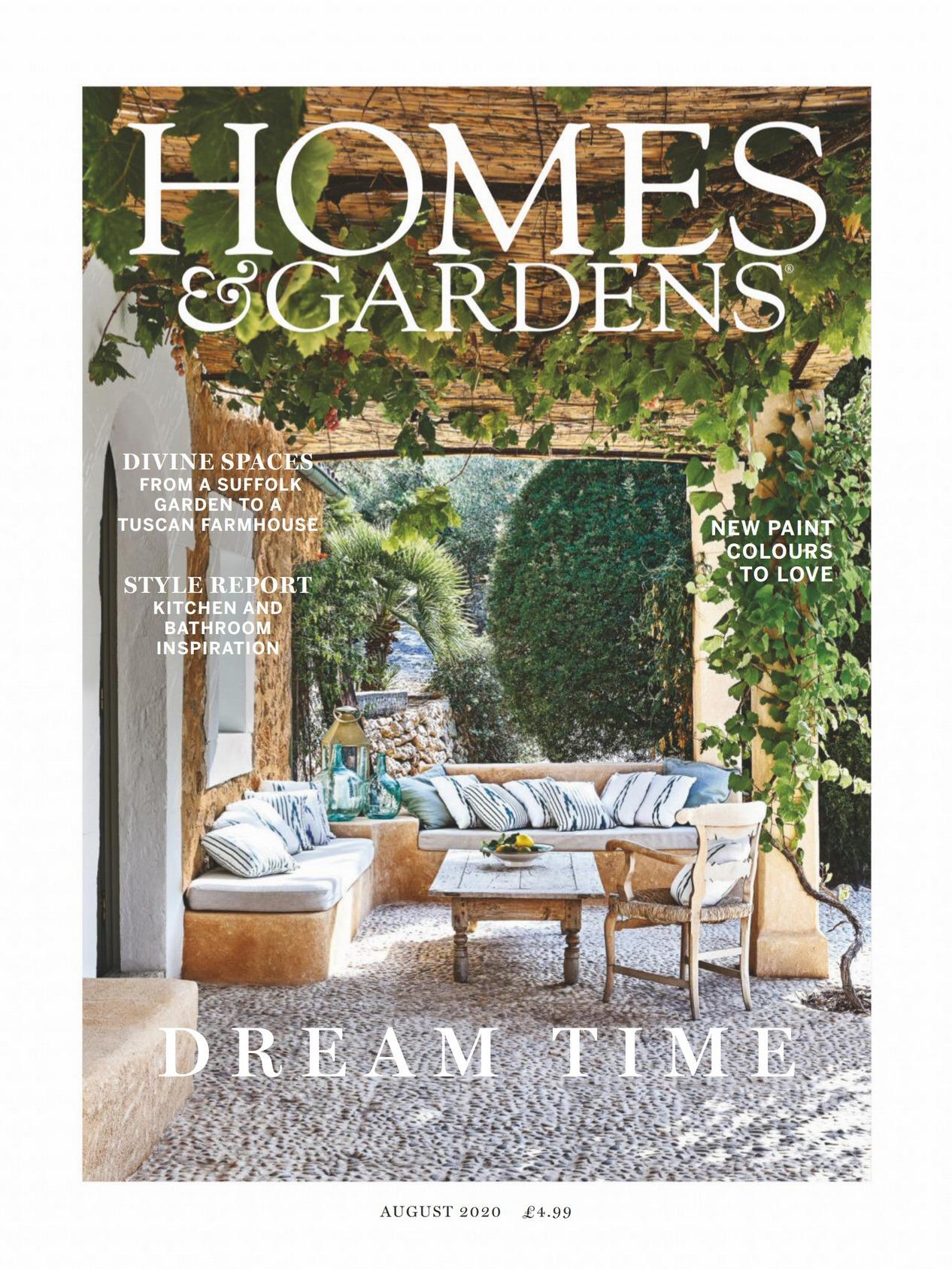 《Homes & Gardens》英国版时尚家居杂志2020年08月号