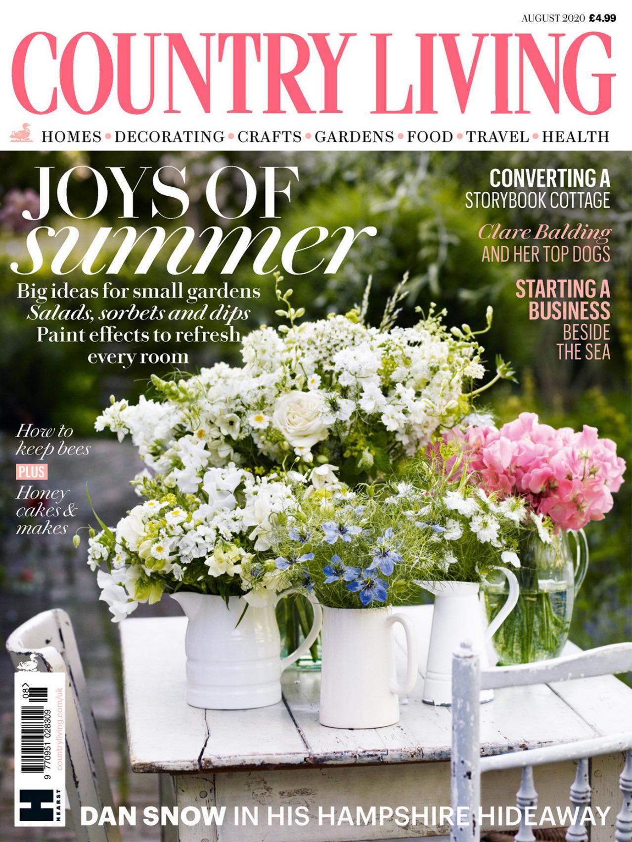《Country Living》英国版时尚家居杂志2020年08月号