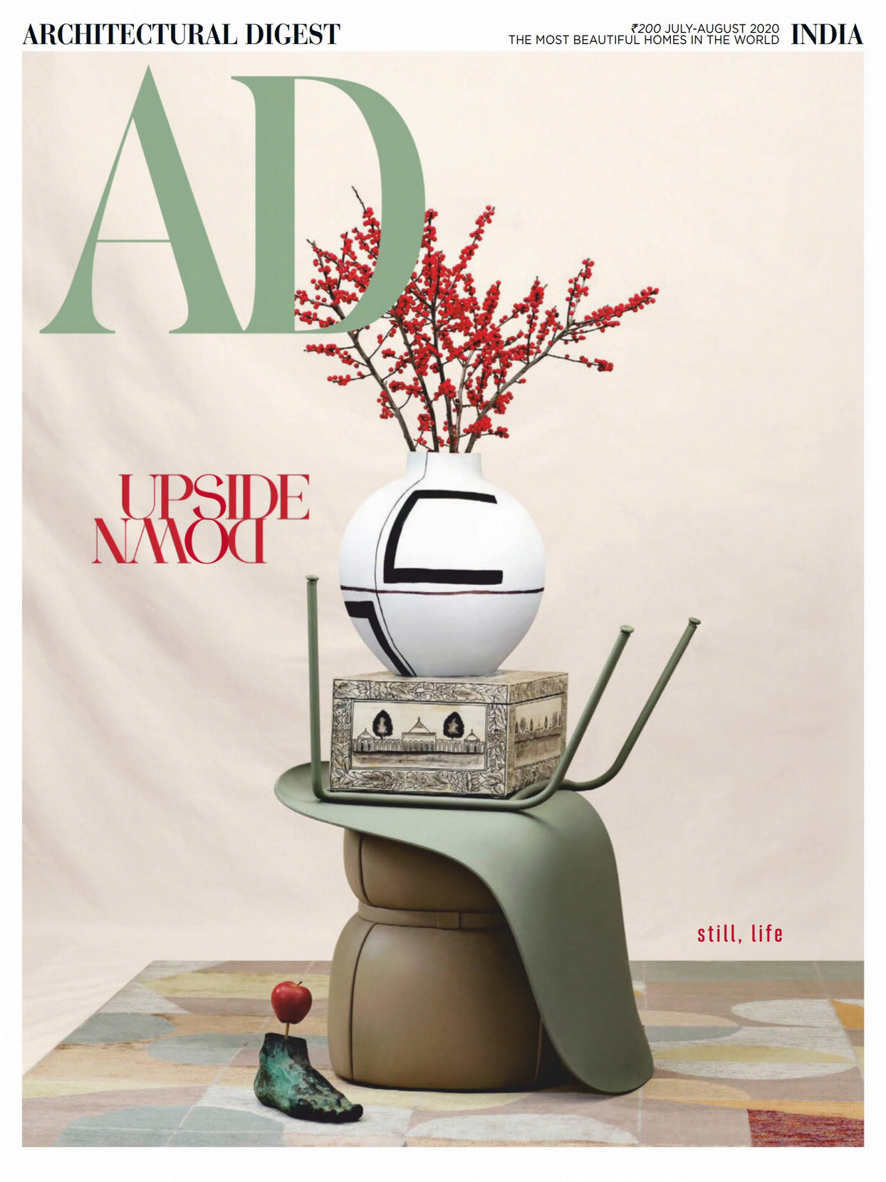 《AD》印度版室内室外设计杂志2020年07-08月号