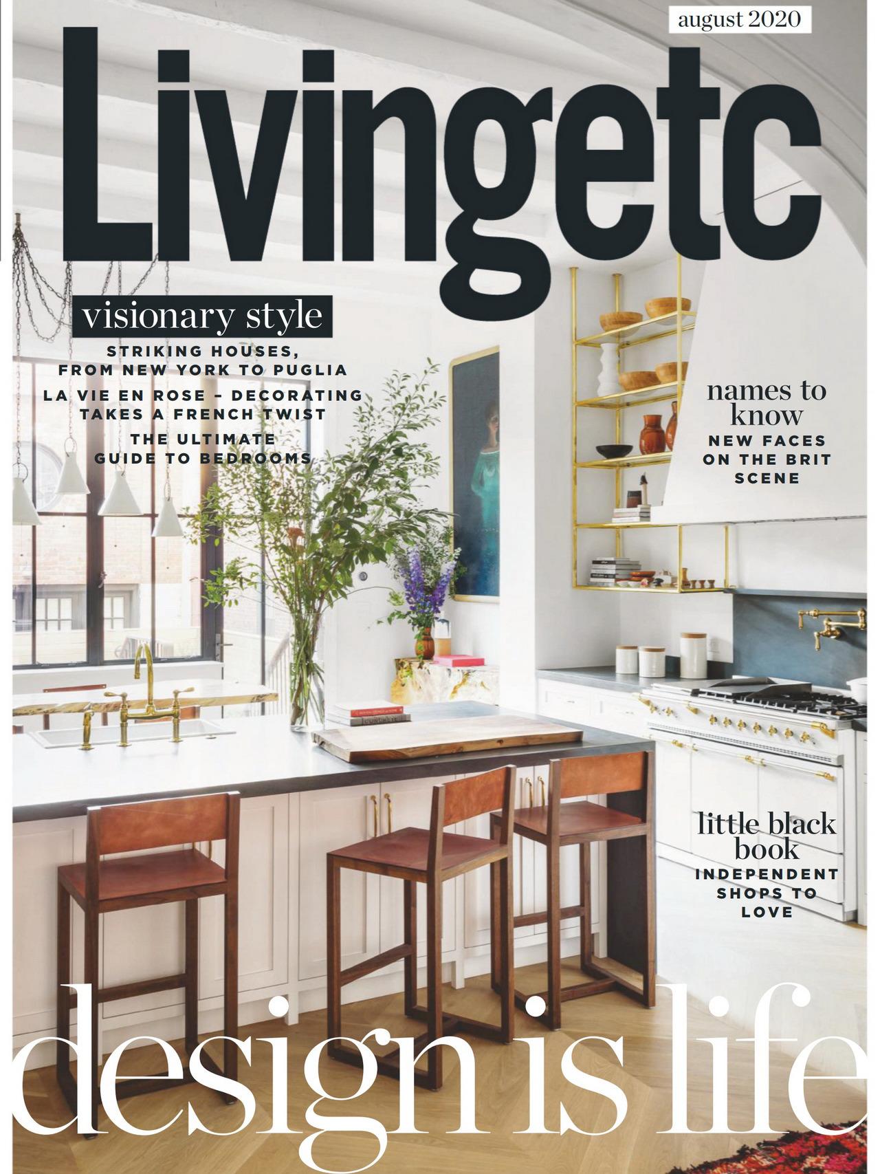 《Livingetc》英国时尚家居杂志2020年08月号