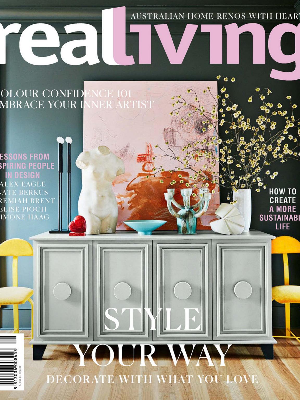 《Real Living》澳大利亚室内设计趋势杂志2020年08月号