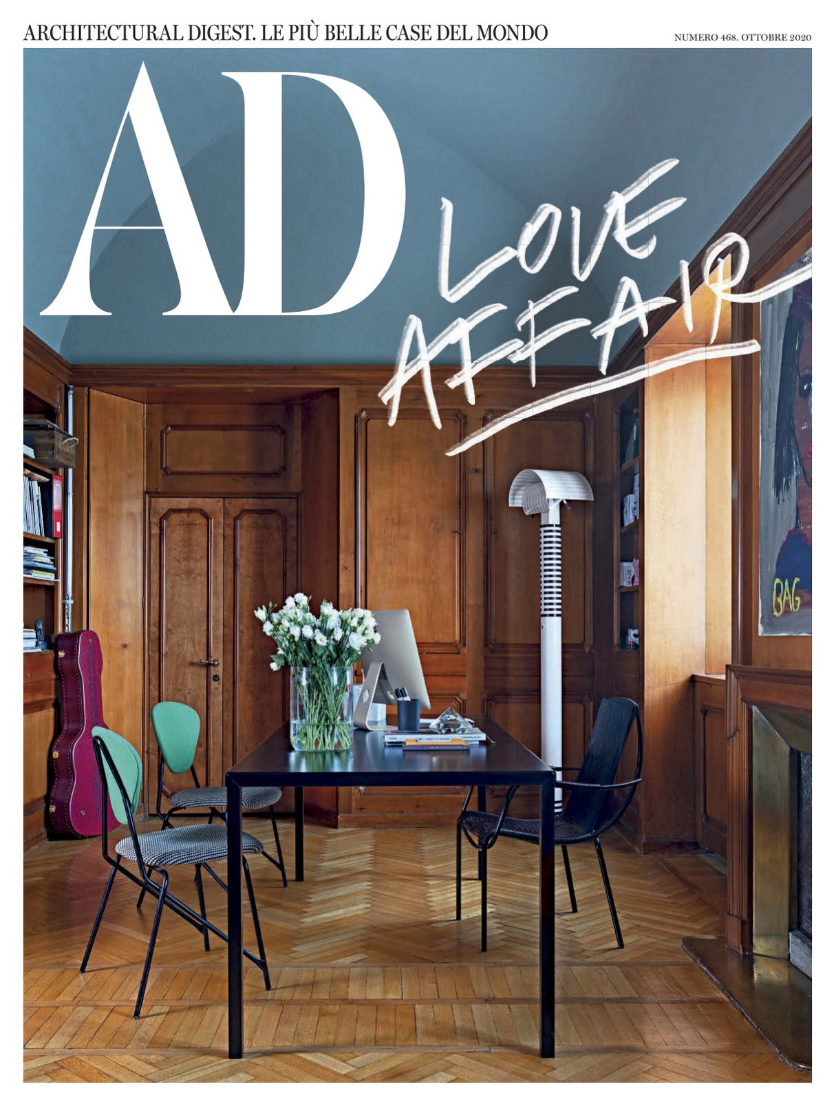 《AD》意大利版室内室外设计杂志2020年10月号