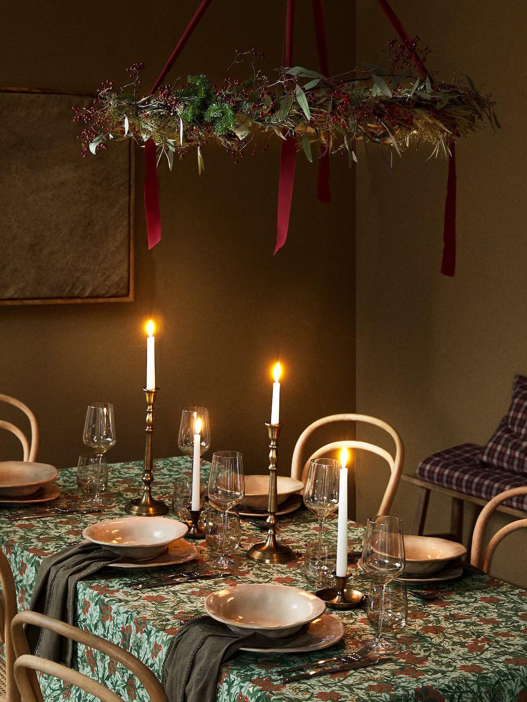 《Zara Home》2020秋冬圣诞节主题桌布&陶瓷系列Lookbook