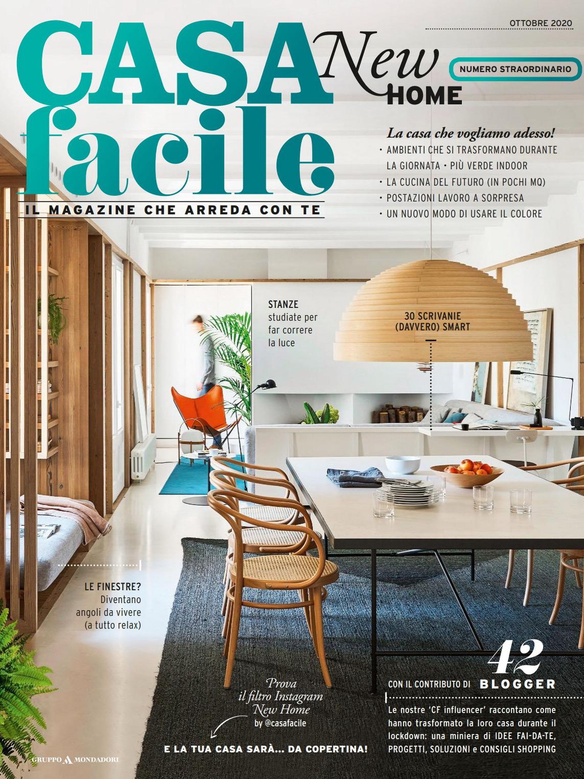 《Casa Facile》意大利家居空间装饰艺术杂志2020年10月号