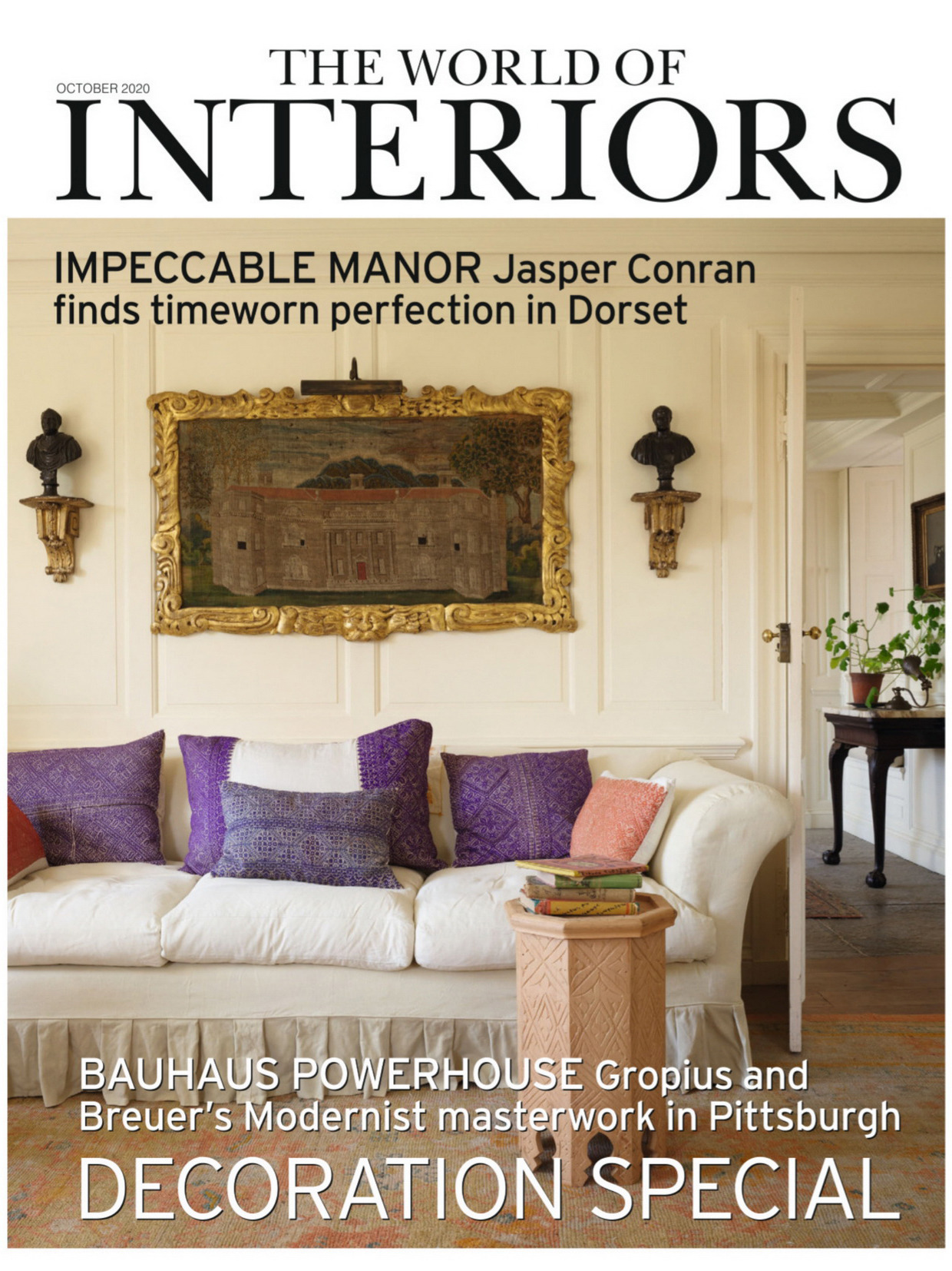 《THE WORLD OF INTERIORS》英国版时尚家居杂志2020年10月号