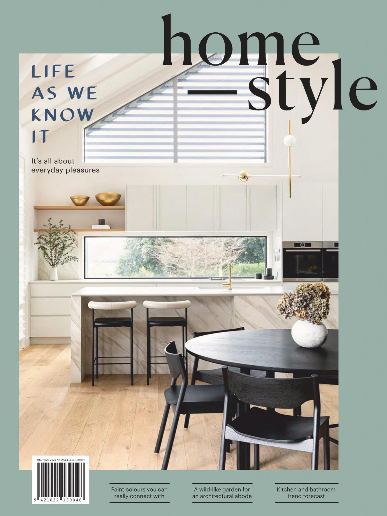 《Homestyle》新西兰室内装饰设计杂志2020年10-11月号