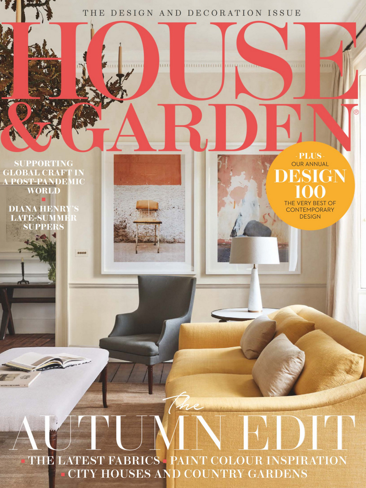 《House & Garden》英国版时尚家居杂志2020年10月号
