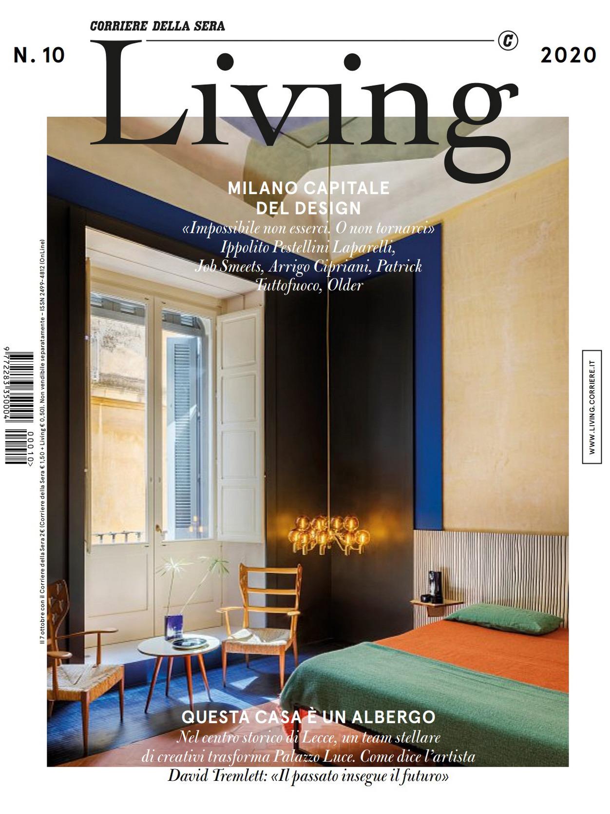 《Living》意大利版时尚家居杂志2020年10月号