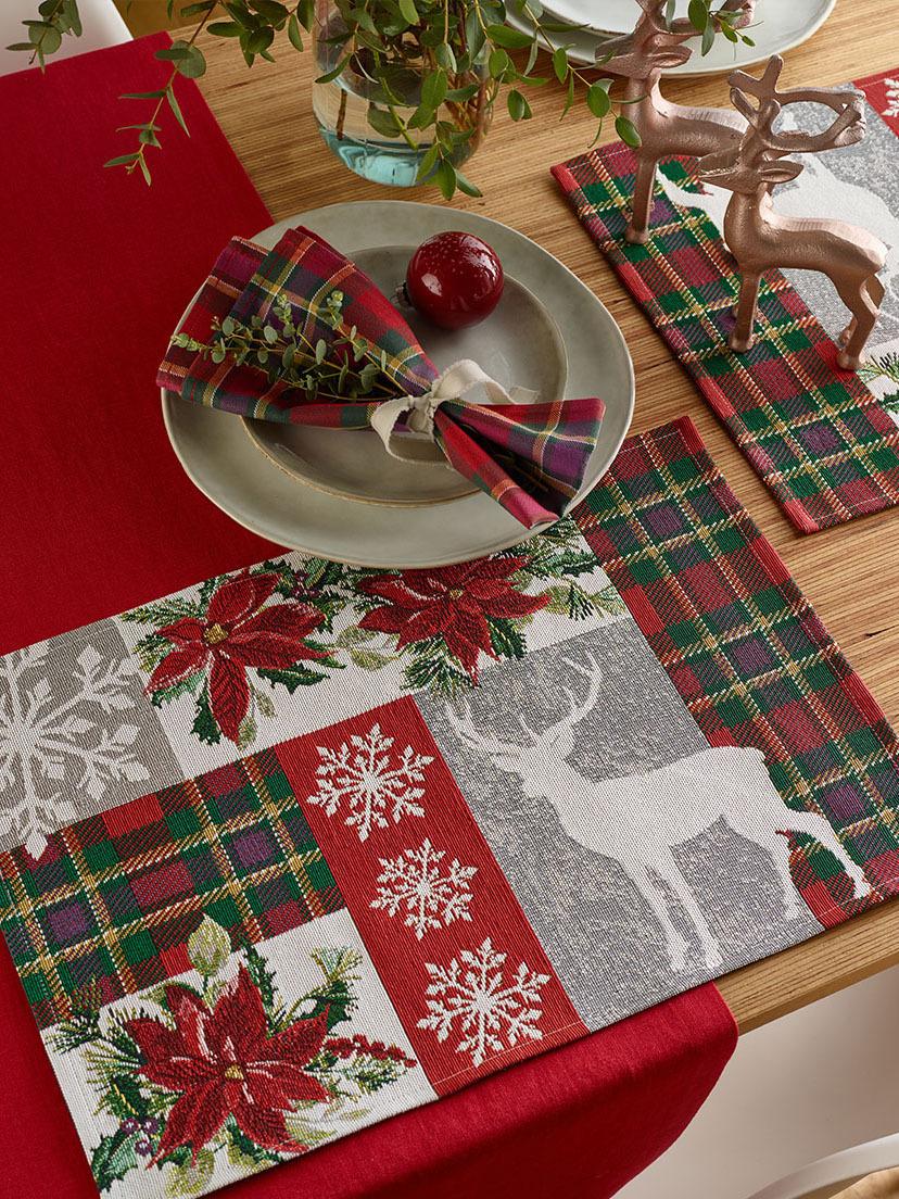 《Sander》2020秋冬圣诞节主题桌布系列Lookbook