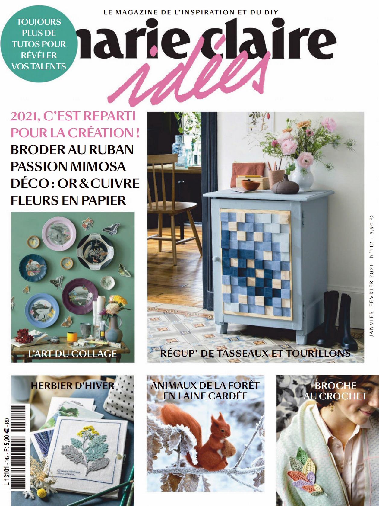 《Marie Claire Idees》法国版时尚综合杂志2020年01-02月号