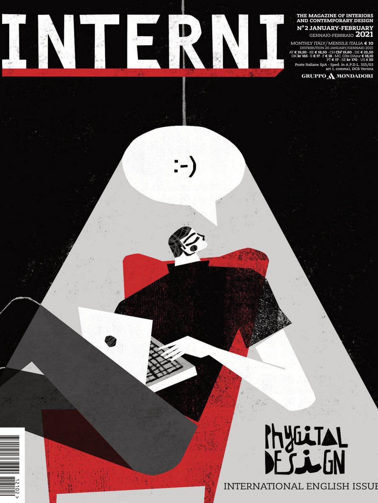 《Interni》意大利室内设计杂志2021年01-02月号