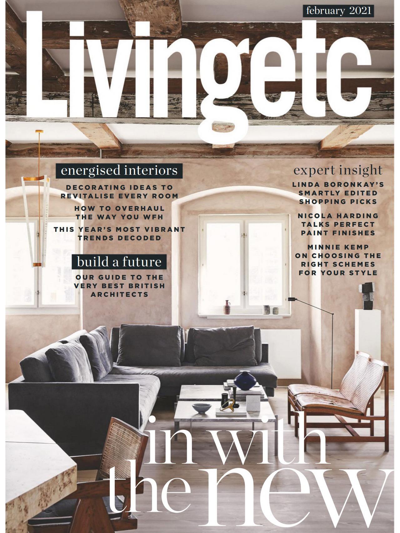 《Livingetc》英国家纺杂志2021年02月号