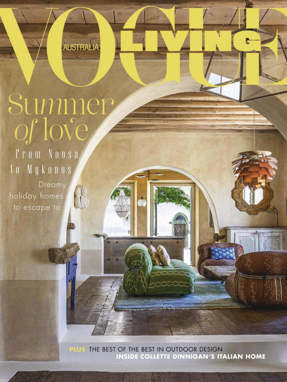 《Vogue Living》澳大利亚版时尚家居设计杂志2021年01-02月号
