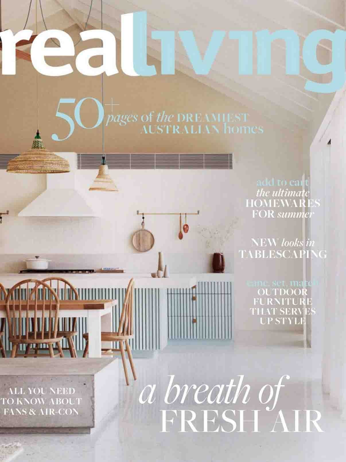 《Real Living》澳大利亚室内设计趋势杂志2021年01月号