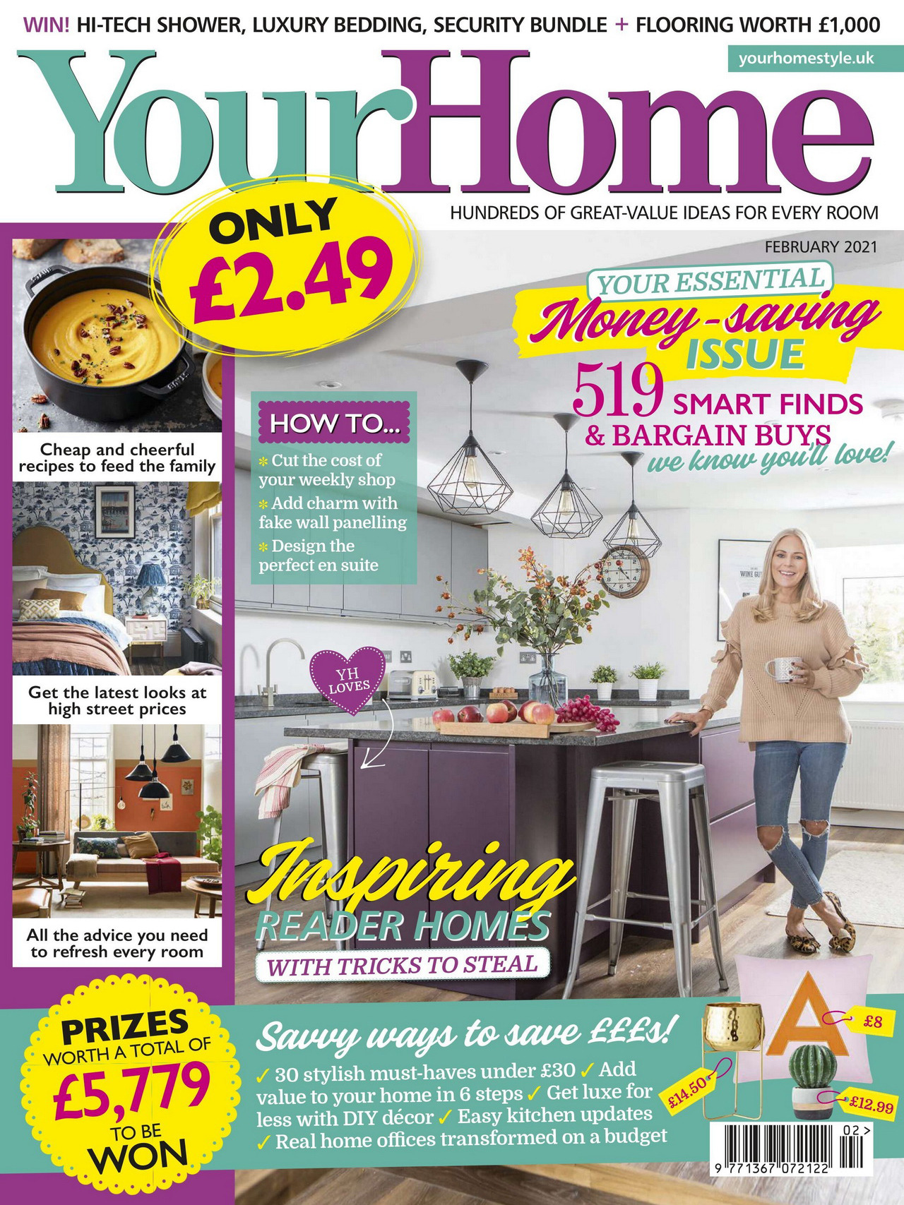 《Your Home》英国家居设计杂志2021年02月号