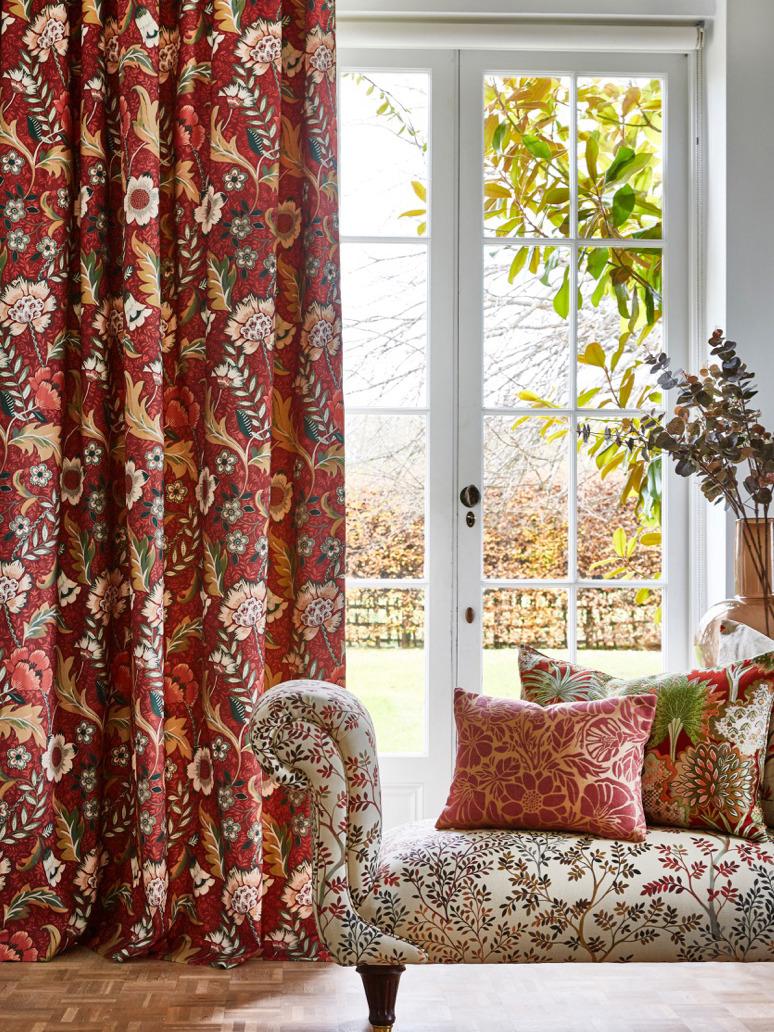 《Prestigious Textiles》2021春夏软装面料系列Lookbook