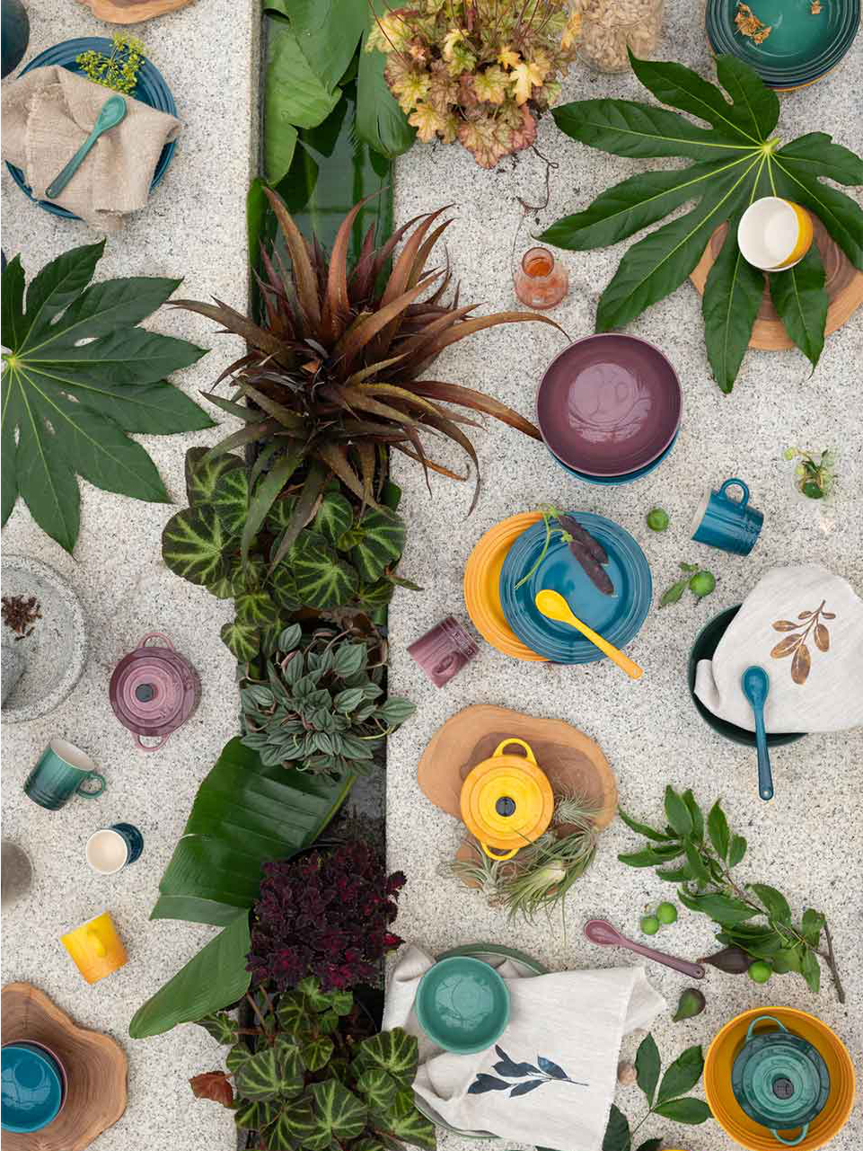《Le Creuset》2021春夏陶瓷系列Lookbook