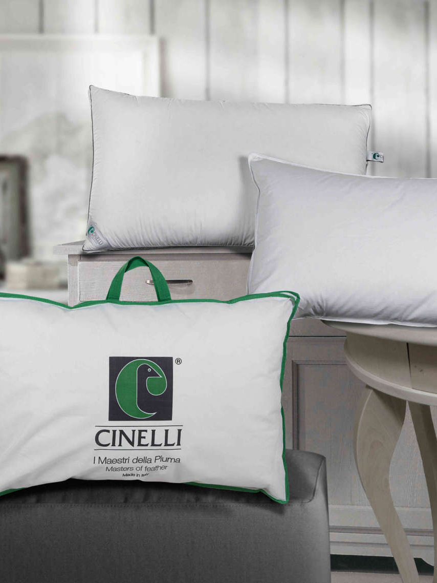 《Cinelli Piume e Piumini》2021春夏被芯&枕芯系列Lookbook