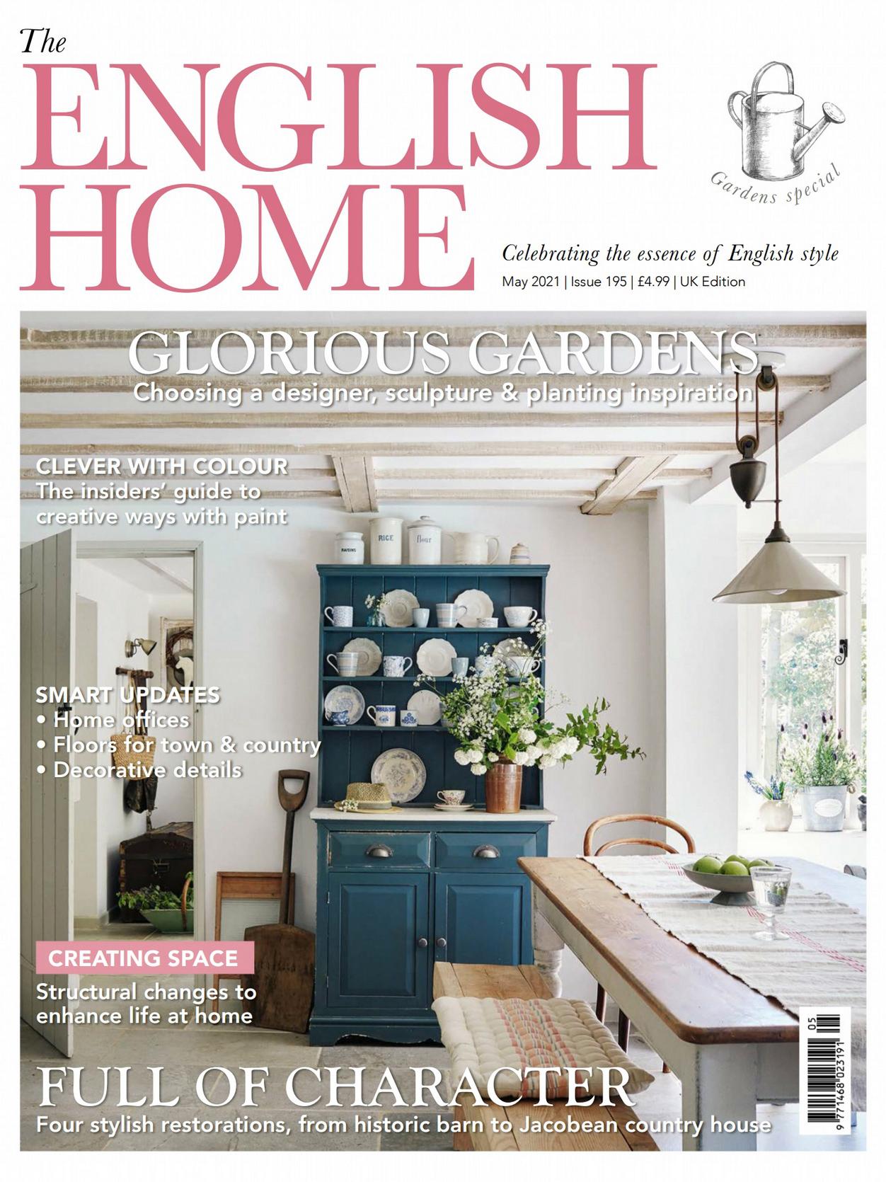 《The English Home》英国版时尚家居杂志2021年05月号