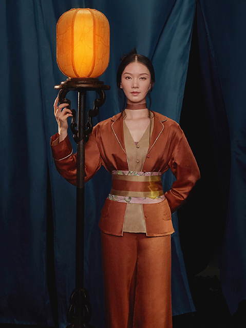 《atelier intimo x 大宋宫词联名》2021春夏家居服系列Lookbook