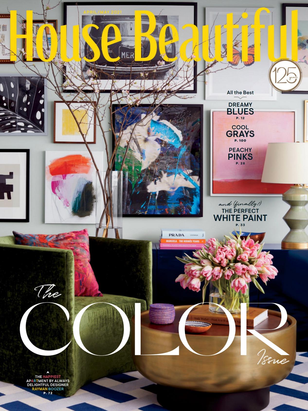 《House Beautiful》美国版家纺杂志2021年04-05月号