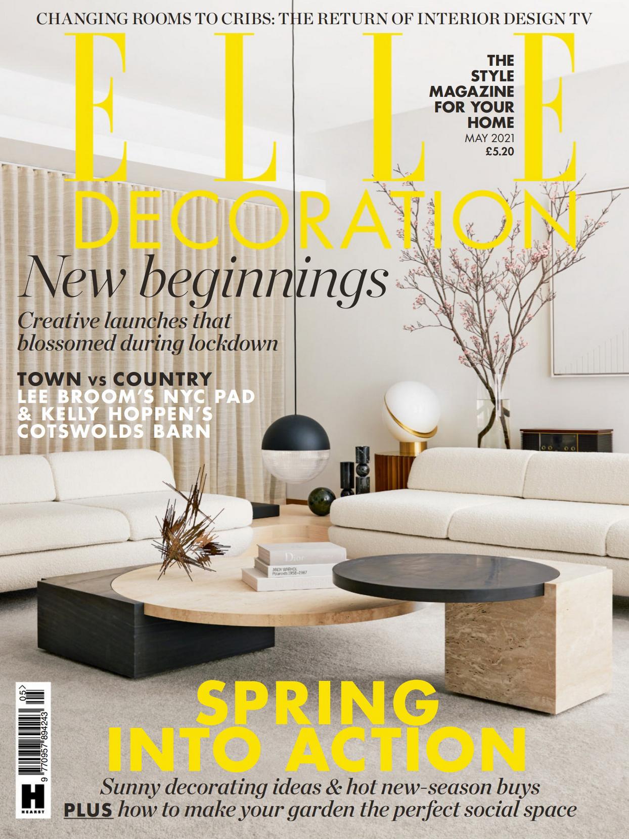 《Elle Decoration》英国家居装饰杂志2021年05月号