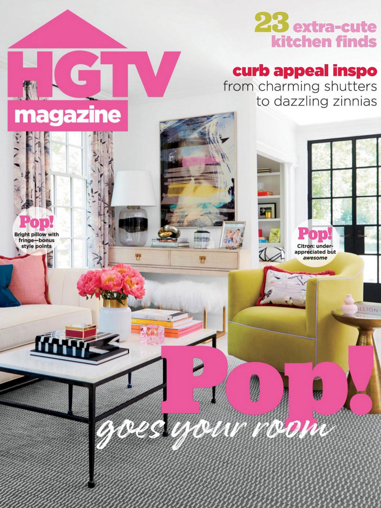 《Hgtv》美国版时尚家居设计杂志2021年05月号