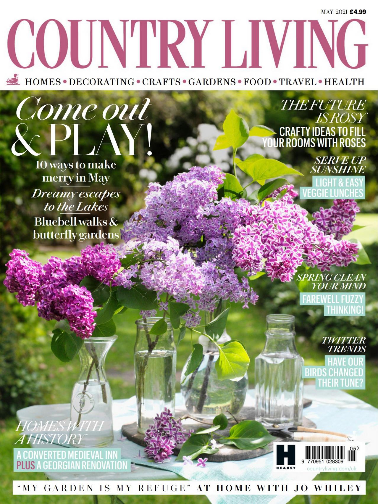 《Country Living》英国版时尚家居杂志2021年05月号