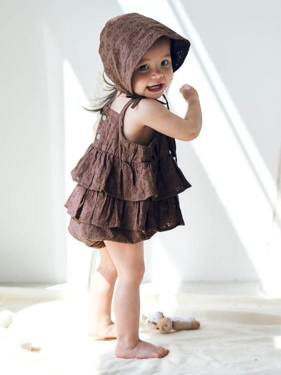 《Apreslescours》2021春夏婴幼童家居服系列Lookbook