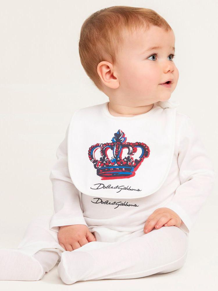 《Dolce & Gabbana》2021春夏儿童&婴幼童家居服系列Lookbook