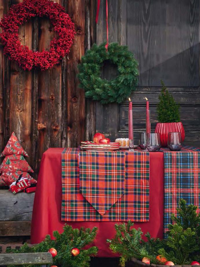 《APELT》2021秋冬圣诞节主题家居用品&桌布系列Lookbook