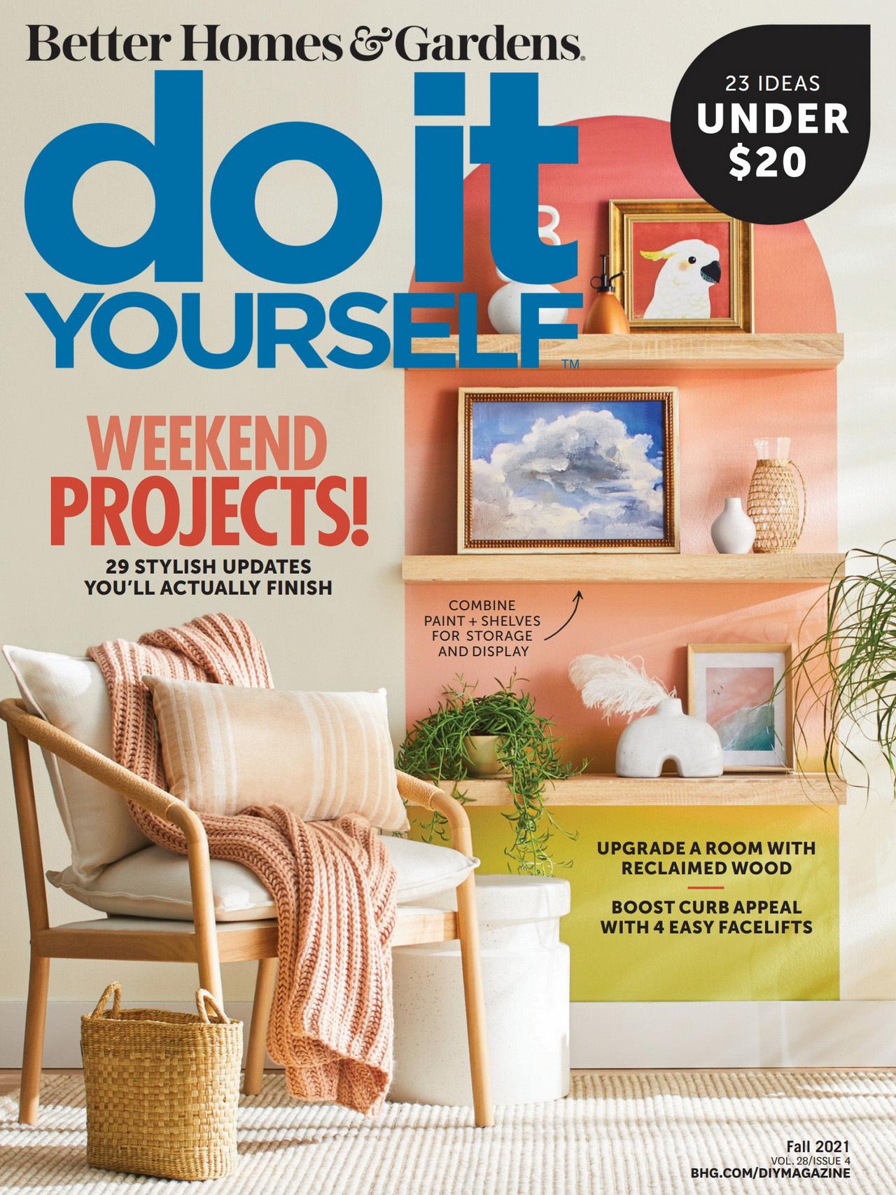 《Do It Yourself》美国时尚家居杂志2021年秋季号